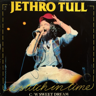 "Jethro Tull ‎- A Stitch In Time (7"") (White Vinyl) (EX/VG)"